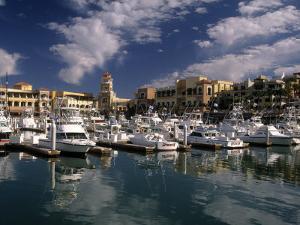 Marina, Cabo San Lucas, Baja California, Mexico by Walter Bibikow