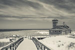 Massachusetts, Cape Cod, Race Point, Old Harbor Life Saving Station by Walter Bibikow