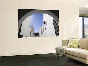Mausoleum of Moulay Idriss, Moulay Idriss, Morocco by Walter Bibikow