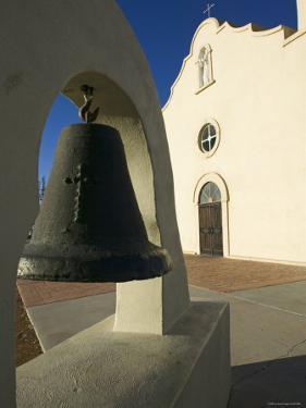 Mission San Antonio de Los Tiguas, El Paso, Texas, USA by Walter Bibikow