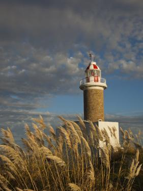Montevideo, Punta Brava Lighthouse, Morning, Uruguay by Walter Bibikow