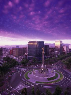 Monumento a La Indepencia, Mexico City by Walter Bibikow