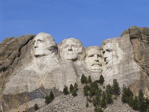 Mount Rushmore National Monument, Keystone, South Dakota, USA by Walter Bibikow