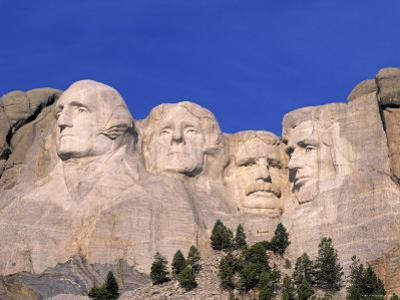 Mount Rushmore, South Dakota, USA by Walter Bibikow