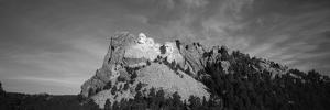 Mt Rushmore National Monument and Black Hills, Keystone, South Dakota, USA by Walter Bibikow