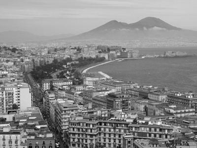 Mt. Vesuvius and View over Naples, Campania, Italy by Walter Bibikow