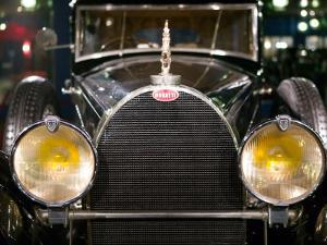 Musee National de l'Automobile, Bugatti Grille, Haut Rhin, France by Walter Bibikow