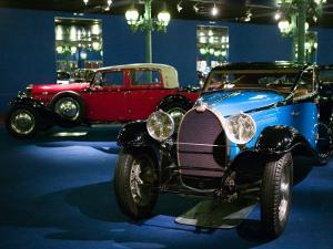 Musee National de l'Automobile, Bugatti Grille, Haut Rhin, France by Walter Bibikow