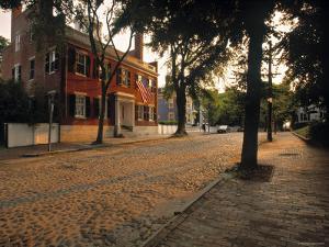 Nantucket Town, Nantucket Island, Massachusetts, USA by Walter Bibikow