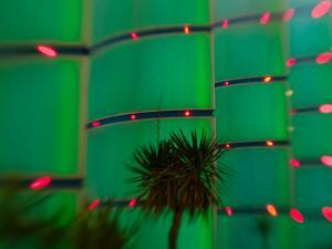 Neon Sign, Bally's Casino, Las Vegas, Nevada, USA by Walter Bibikow
