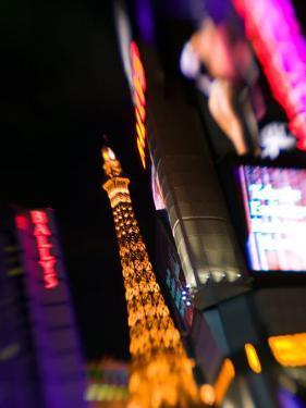 Neon Sign, The Paris Casino, Las Vegas, Nevada, USA by Walter Bibikow