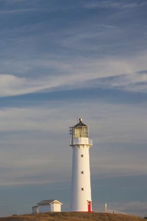 New Zealand, North Island, Pungarehu. Cape Egmont Lighthouse by Walter Bibikow
