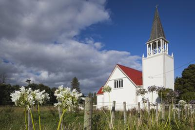 New Zealand, North Island, Whanganui. Putiki Church by Walter Bibikow