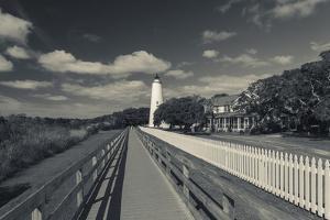 North Carolina, Cape Hatteras National Seashore, Ocracoke Lighthouse by Walter Bibikow