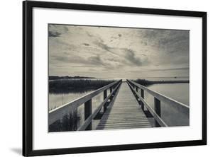 North Carolina, Outer Banks National Seashore, Corolla,Boardwalk by Walter Bibikow