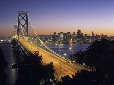 Oakland Bay Bridge, San Francisco, California, USA by Walter Bibikow