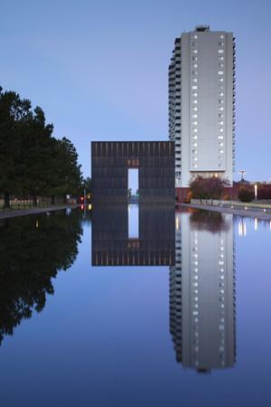 Oklahoma City National Memorial, Oklahoma City, Oklahoma, USA