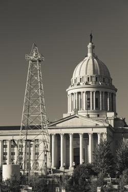 Oklahoma State Capitol Building, Oklahoma City, Oklahoma, USA by Walter Bibikow