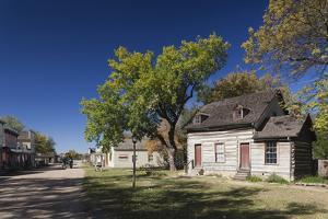 Old Cowtown Museum, Village from 1865-1880, Wichita, Kansas, USA by Walter Bibikow