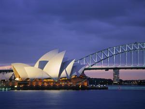 Opera House, Sydney, Nsw, Australia by Walter Bibikow