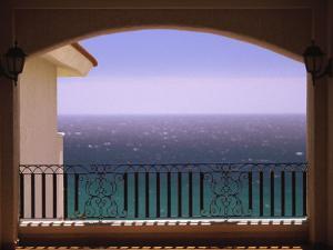 Pacific Ocean View, Cabo San Lucas, Baja, Mexico by Walter Bibikow