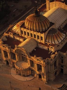 Palacio De Bellas Artes, Mexico City, Mexico by Walter Bibikow