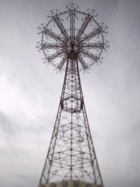 Parachute Jump Tower, Coney Island, Brooklyn, New York, USA by Walter Bibikow