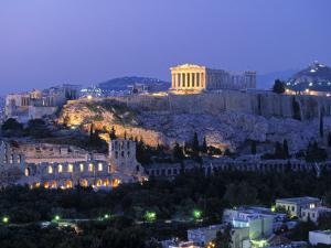 Parthenon, Acropolis, Athens, Greece by Walter Bibikow