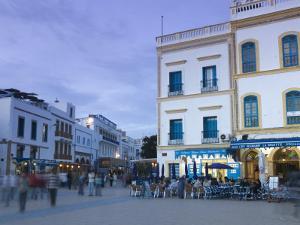 Place Moulay Hassan, Essaouira, Atlantic Coast, Morocco by Walter Bibikow