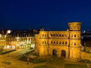 Porta Nigra, Trier, Mosel River Valley, Rheinland-Pfaltz, Germany by Walter Bibikow