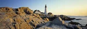 Portland Head, Cape Elizabeth, Maine, USA by Walter Bibikow