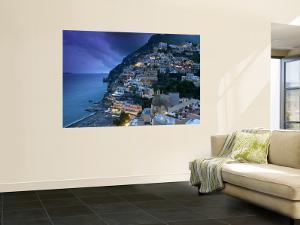 Positano, Amalfi Coast, Italy by Walter Bibikow