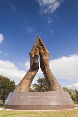 Praying Hands, Oral Roberts University, Tulsa, Oklahoma, USA by Walter Bibikow