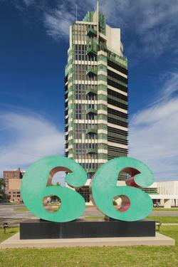 Price Tower, Bartlesville, Oklahoma, USA by Walter Bibikow