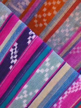 Purmamarca, Tulmas, Native-Made Blankets, Argentina by Walter Bibikow