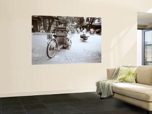 Rickshaw, Old Hanoi, Hanoi, Vietnam by Walter Bibikow