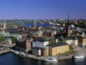 Riddarholmen, Stockholm, Sweden by Walter Bibikow