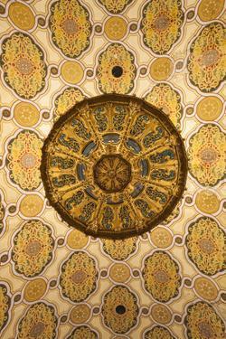 Romania, Bucharest, Grand Synagogue, Interior by Walter Bibikow