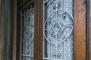 Romania, Bucovina Region, Suceava, Gah Synagogue, Exterior by Walter Bibikow