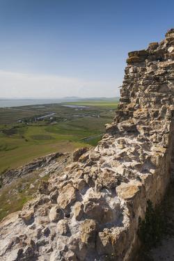 Romania, Sarichioi, Ruins of Cetatea Heracleea de La Enisala Fortress by Walter Bibikow
