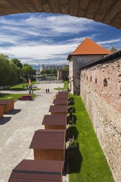 Romania, Transylvania, Fagaras, Fagaras Citadel, Exterior View by Walter Bibikow