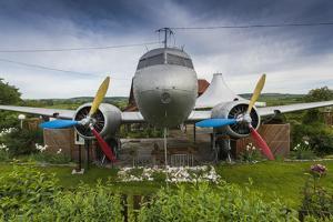Romania, Transylvania, Faget, Russian Built Lisunov Li-2 Aircraft by Walter Bibikow