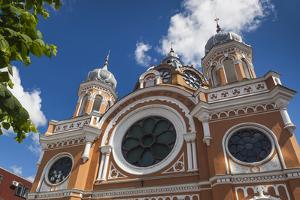 Romania, Transylvania, Targu Mures, Synagogue by Walter Bibikow