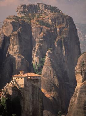 Roussanou Monastery, Meteora, Greece by Walter Bibikow