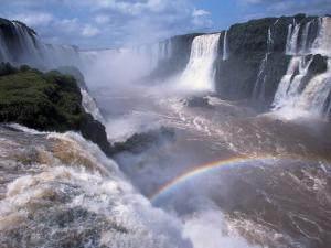 Salto Union, Iguazu Falls, Argentina by Walter Bibikow