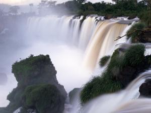 Saltos San Martin, Iguazu Falls, Argentina by Walter Bibikow