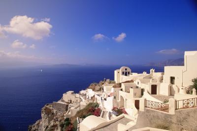 Santorini, Greece by Walter Bibikow