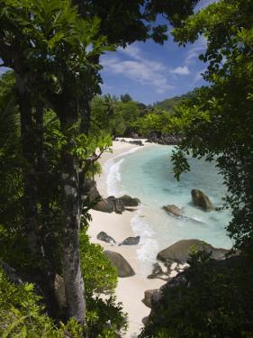 Seychelles, Mahe Island, Port Launay Marine National Park by Walter Bibikow