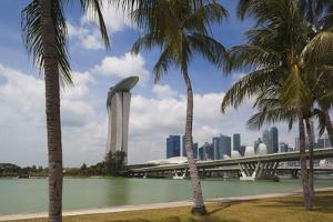 Singapore, City Seen from the Waterfront by Walter Bibikow