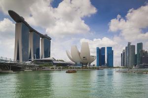 Singapore, Cityscape Full of Unique Skyscrapers by Walter Bibikow